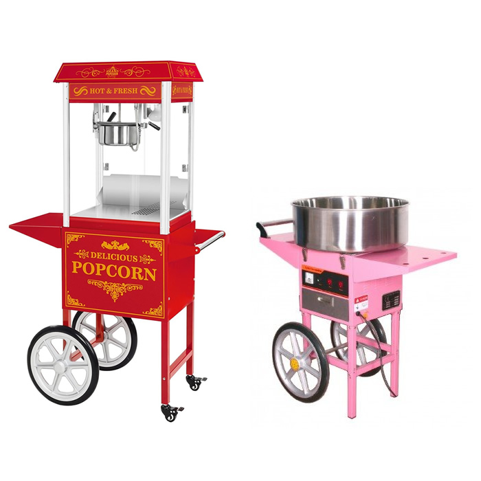 Candy Floss & Popcorn Machines